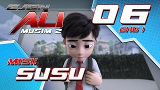 Download Video Ejen Ali - Musim 2 (EP06) - Misi : SUSU [Bahagian 1] MP3 3GP MP4