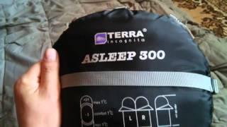 Обзор спальных одеял, спальник ,  Terra Incognita Asleep 300