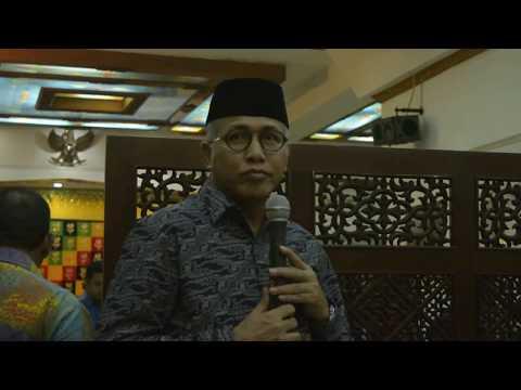 Sambutan Nova (Wakil Gubernur Aceh) di Pendapa Bupati Aceh Utara