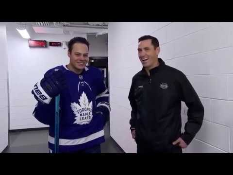 Ice Time:  Stick Check:  Matthews Joins Ice Time To Discuss The Stick He Uses  Oct 13,  2018