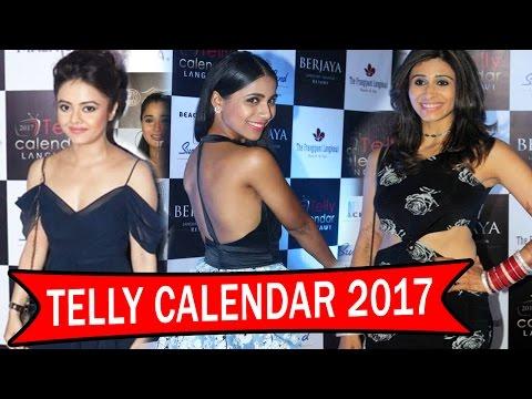 Telly Calendar 2017 | Launch Event | Devoleena Bhattacharjee | Kishwer Merchant | Vibha Anand