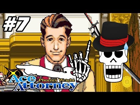 Phoenix Wright: Ace Attorney W/ Noby - EP7 - The Lover (VN Adventure - Blind)