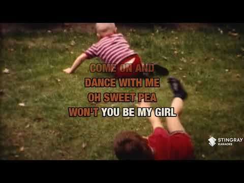 Sweet Pea in the style of Tommy Roe | Karaoke with Lyrics