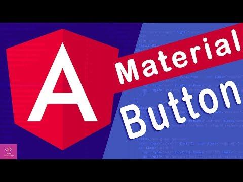 🔥Angular Material Button in angular 8 [Tutorial - 2] thumbnail