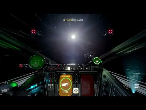 Practicing flying an X-wing | Star Wars Squadrons game-play part 6 |