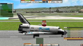 ATC 3: PHNL Hawaii Honolulu Addon Stage 1 Part 2 Walkthrough (Feat. Space Shuttle)
