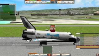 ATC 3: PHNL Hawaii Honolulu Addon Stage 1 Part 2 Walkthrough (Feat. Space Shuttle)