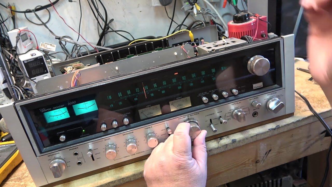 Download Vintage Sansui 9090DB 125WPC receiver service