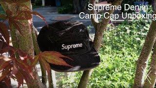 57278add3f9 Supreme Denim Camp Cap Unboxing!