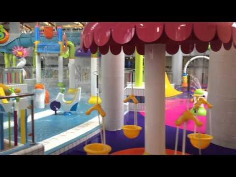 Lagan Valley Leisureplex New Splash Pool