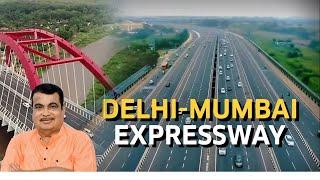 The 8 lane greenfield Delhi-Mumbai Expressway will be the longest expressway in India|Nitin Gadkari|