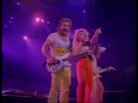 Van Halen Best Of Both Worlds Live Youtube