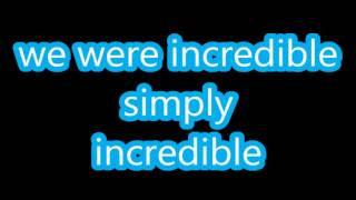 Céline Dion duet with Ne-Yo - Incredible (LYRICS) 2014