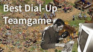 AoE2 - Best Dial-Up Teamgame I've Seen!
