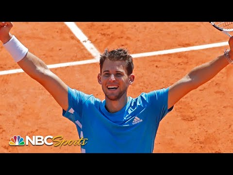 2019 French Open: Novak Djokovic vs. Dominic Thiem | EXTENDED HIGHLIGHTS | NBC Sports