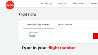 AirAsia | Quick FAQs: How to check your flight status
