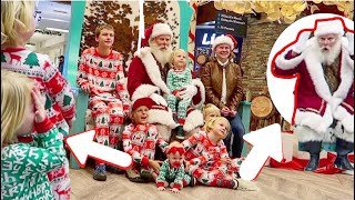 7 Kids Meet Santa Claus For The First Time And It's Priceless!