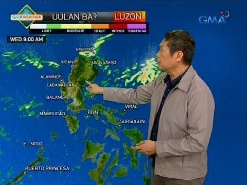 24 Oras: Low Pressure Area na nabuo sa PAR, magpapaulan sa Luzon bukas