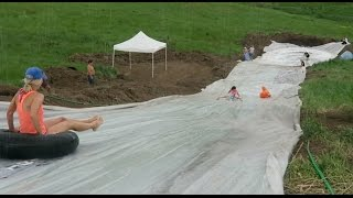 Worlds Biggest Slip n Slide