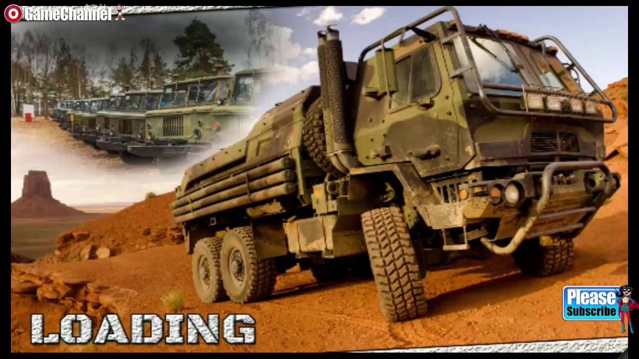 army truck games for kids