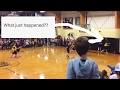 CRAZY HARD FOUL AT GIRLS HIGH SCHOOL BASKETBALL ALUMNI GAME | ARDMORE ALABAMA | THE SHOWSTOPPER SHOW