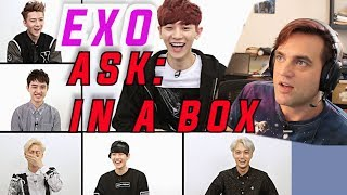 Ellis Reacts #601 //  ASK IN A BOX: EXO-K 엑소 케이 / Part.1 - Overdose(중독) [ENG SUB] // EXO LIVE