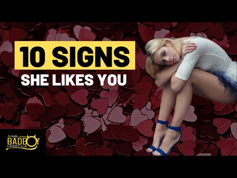 signs she likes you dating