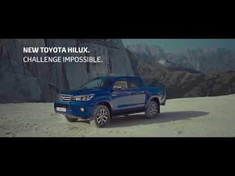 Toyota Hilux кидає виклик неможливому!