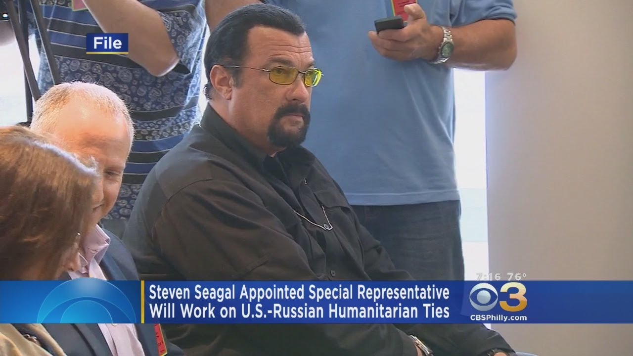 Russia Appoints Actor Steven Seagal to Help With US Diplomatic Relations