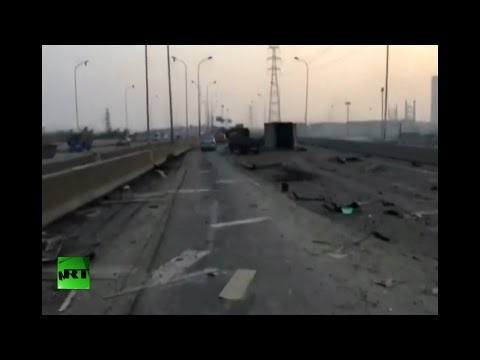 RAW: Aftermath of massive Tianjin, China explosion