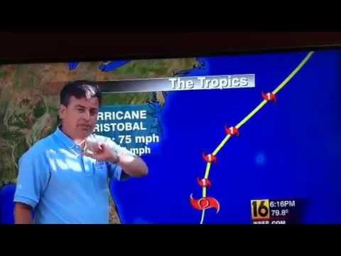 Kurt Arron Did He Swear On His WNEP Weather Report?