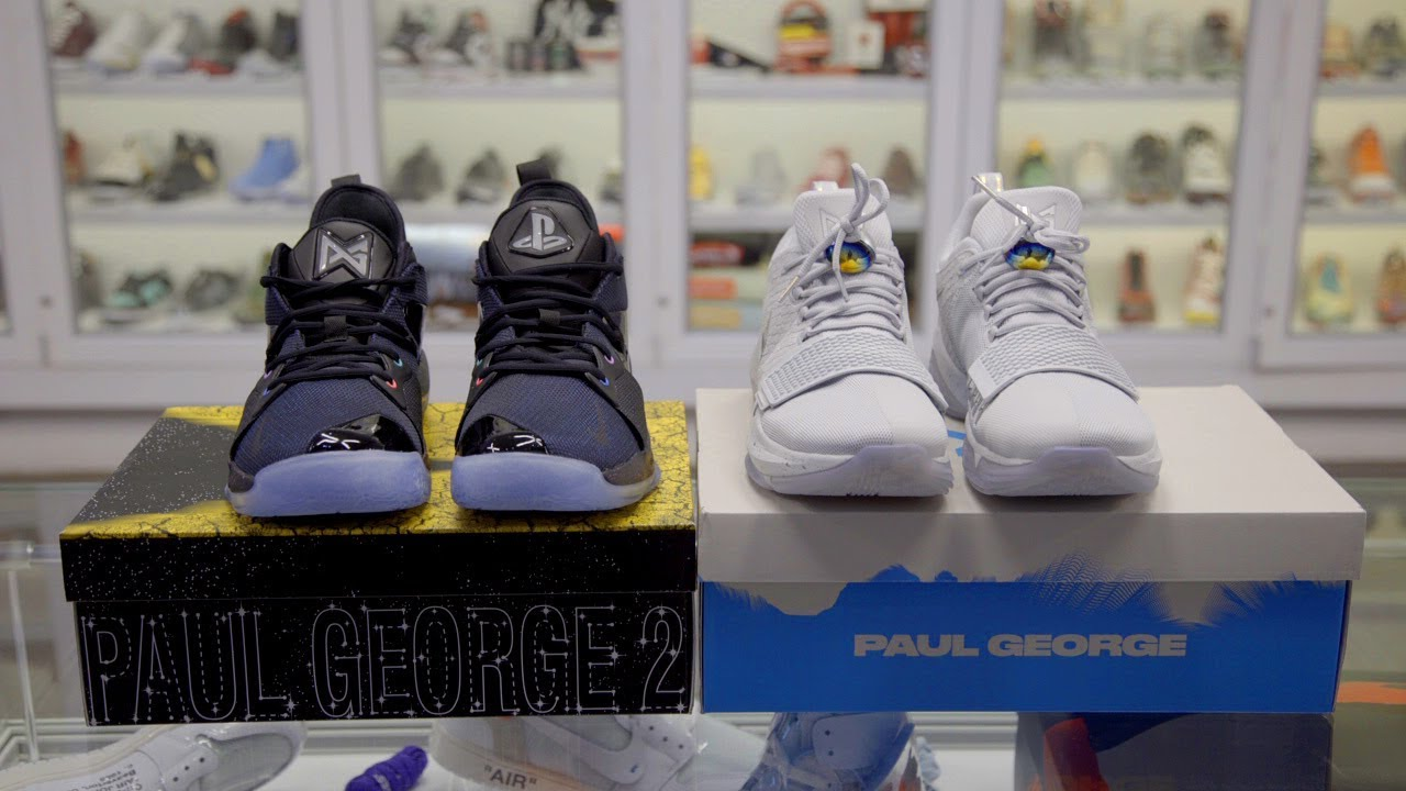 Paul George 2 Athletic Shoes For Men THE LIGHTS BLINK BLINK WHEN YOU WALK