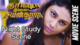trisha illana nayanthara night study scene gv prakash kumar anandhi manisha yadav