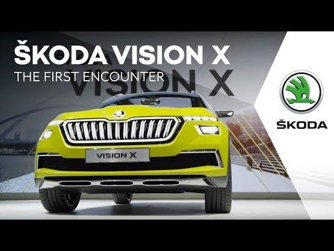 ŠKODA VISION X: The first encounter