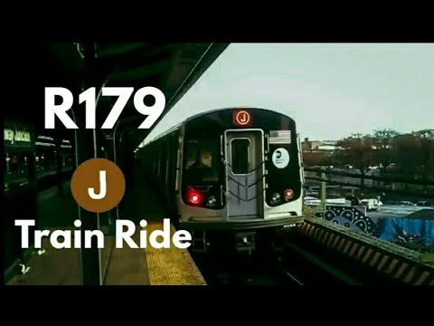 BMT Jamaica Center Bound R179 (J) Train Ride From Broad St To Broadway Junction