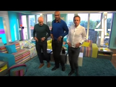 Colin Salmon Teaches Tim & Simon the Love-Face Dance | Sunday Brunch