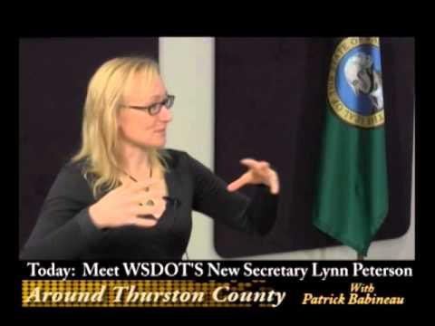 WSDOT Secretary Lynn Peterson