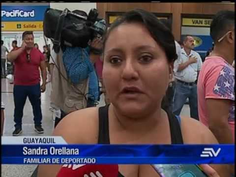 Cerca de 40 ecuatorianos deportados desde EEUU arribaron al país