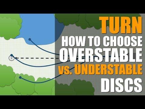 How to Choose Overstable vs Understable Disc Golf Discs TURN