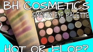 hot or flop bh cosmetics smokey eye palette