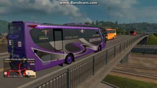 Telolet Bus Hasyim Asyari Purple Bus Ep3 ETS2