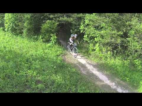 Aerial Video of the Blue Ridge School's Mountain Bikers