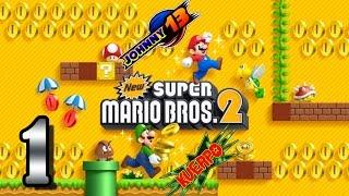 New Super Mario Bros 2 GAMEPLAY - Parte 1 - Comienzamos una nueva aventura!!
