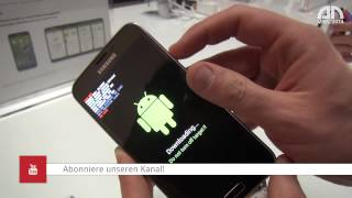 Samsung Galaxy S5 - Download-Modus (Download Mode) - MWC 2014 - androidnext.de