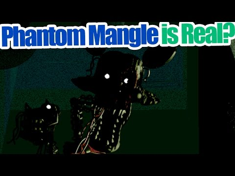 Phantom mangle is real five nights at freddy s 3 theory yourepeat