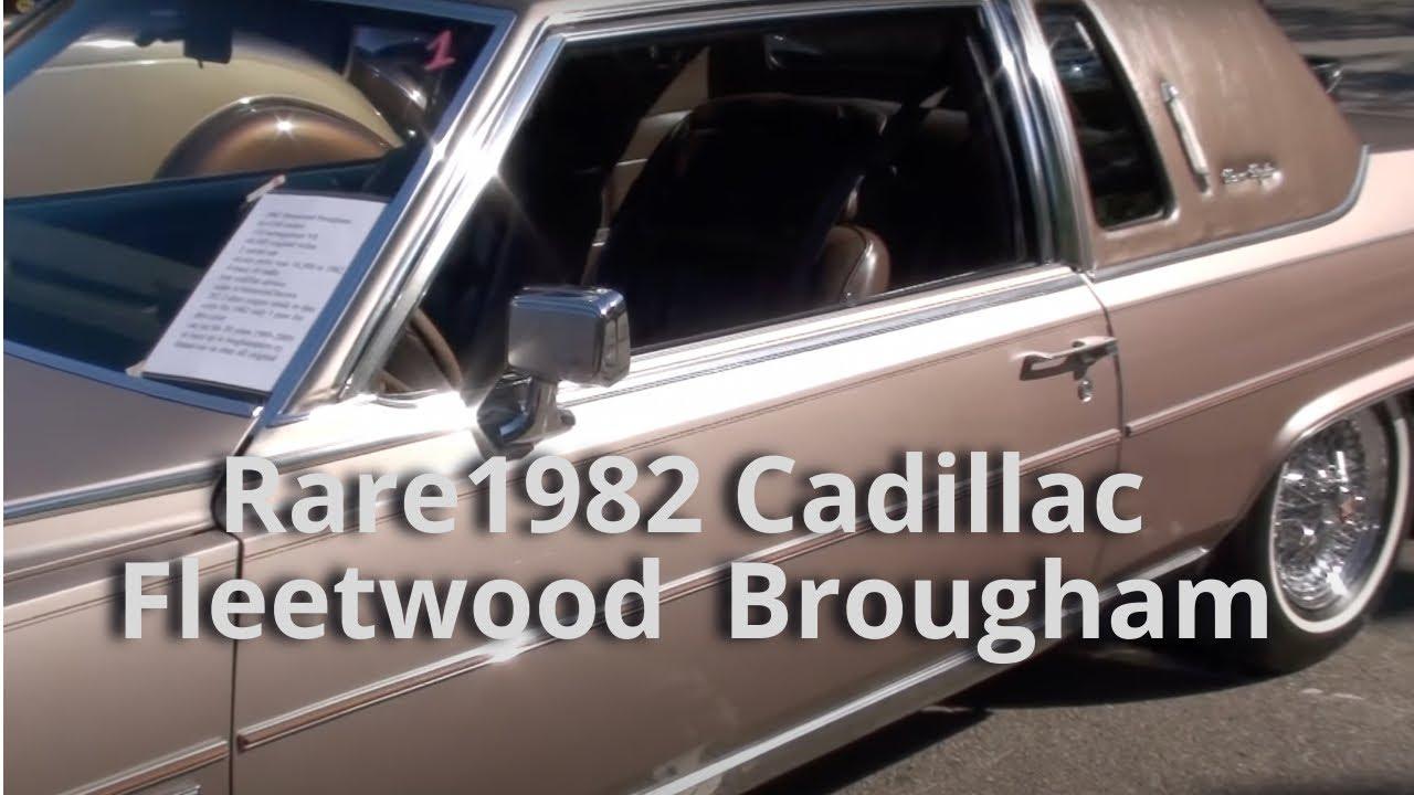1982 Cadillac Fleetwood Brougham - YouTube