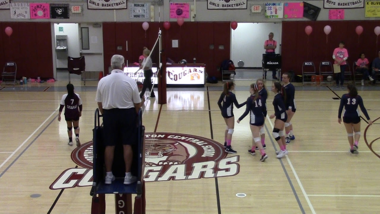 NCCS - AuSable Valley Volleyball  10-21-19