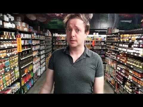 British Food Section At Jungle Jim's in Cincinnati | Finding America