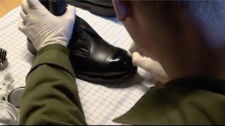Puds og gejl støvler som en garder