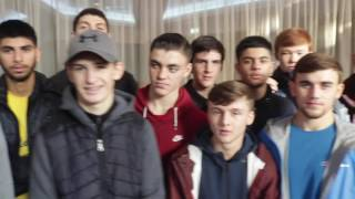 ENGLAND AMATEUR SQUAD COMES OUT TO SUPPORT MICHAEL CONLAN IN BELFAST